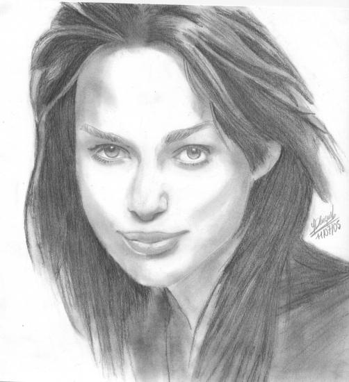 Keira Knightley by Yann
